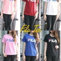 Fila Tee-fashion remaja-kaos casual-baju santai-terbaru-sale-BL