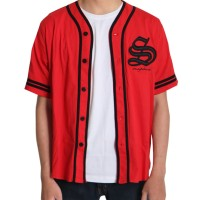 Snapback Jersey Baseball Bordir S BSB01RED_BDR01