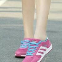 Sepatu Sneakers Wanita Adidas Replika Mo 74 Astri Pink Fanta