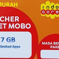 Voucher Data Indosat 7GB + Unlimited Apps