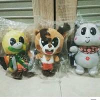 Boneka Maskot Asian Games 2018 (1set) (READY)