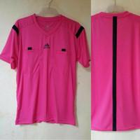Baju Wasit Leher V PD14 Sepakbola / Futsal Adidas ( PINK )