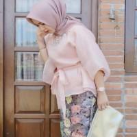 Bahan Kain Organza Kaca/Premium Bahan Jilbab Dan Kombinasi Baju