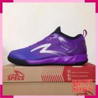 Sepatu Futsal Specs Metasala Musketeer Deep Purple Black 400738