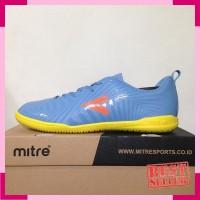 Sepatu Futsal Mitre Optimize IN Dark Lead Orange T01040021 Original