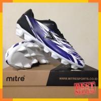 Sepatu Bola Mitre Flare FG Black Blue White T01010013 Original BNIB