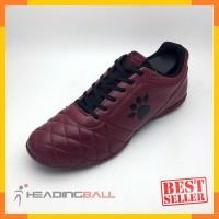 Sepatu Futsal Original Kelme Power Grip Maroon Black 1102130 BNIB