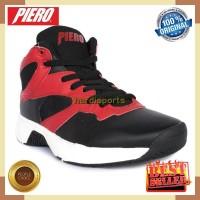 Sepatu Basket Pria Piero Commander P60147 - Red Black