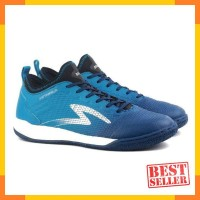 Sepatu Futsal Specs Metasala Musketeer IN - Galaxy Blue / Rock Blue /
