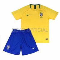 BAJU JERSEY BOLA BAJU SEPAKBOLA JERSEY KLUB BOLA Jersey Kids Brazil H