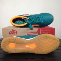 Best Seller Sepatu Futsal Specs Horus Tosca Orange 400338 Original