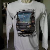Kaos Bus Baju Bis Tangan Panjang Putera Mulya Haryanto Murah