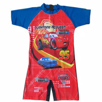Baju renang anak Cars usia 3th - 7th anak TK diving anak Cars