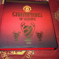 Jersey Manchester United Champions League Final Moscow 2008 Boxset