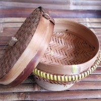 Sangku ceting bakul nasi bambu 15cm