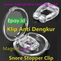 Klip Anti Dengkur Ngorok Magnetic Snore Stopper Anti Snoring Hidung
