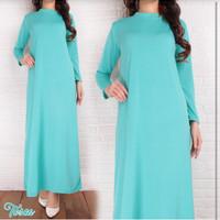 Baju Dalaman Kaftan Gamis Wanita Fashion Muslim Maxi Dress Murah