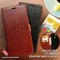 Wallet Leather Flip Case Asus Zenfone Max Plus M1 ZB570TL Flipcase