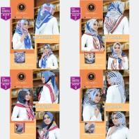 Jilbab Segi Empat New French Motif By Yeffa Scarf