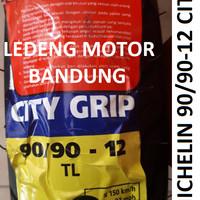 Michelin 90/90-12 City Grip Ban Tubeless Motor Vespa Baru New Scoopy