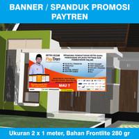 Banner / Spanduk Agen Paytren Ukuran 2 x 1 meter