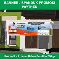 Banner / Spanduk Agen Paytren Ukuran 3 x 1 meter