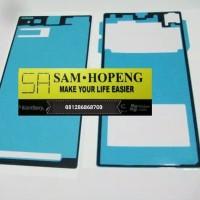 Sony Xperia Z1 Adhesive Lem Perekat LCD + Backdoor Depan Belakang