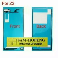 Sony Xperia Z2 Adhesive Front Back / Depan Belakang Lem Perekat