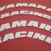 Tire sticker / Sticker ban motor YAMAHA RACING