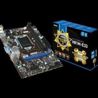 Motherboard MSI H81M-E33 1150