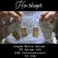 10gram Gold bar/ Logam Mulia Antam (LM) sertifikat Antam