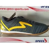 [EK] Sepatu futsal specs horus dark charcoal yellow 2015 original 100%