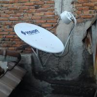 Antena digital parabola mini mnc vision tanpa iuran bulanan