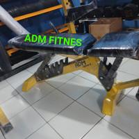 Sit up bench adjustable, Bangku bench press, kursi fitness