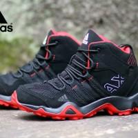 SEPATU PRIA ADIDAS AX2 HIGH BLACK RED TERLARIS