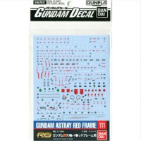 Gundam Decal RG GundamAstray Red Frame