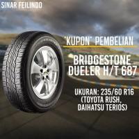 Ban Mobil SUV Bridgestone DUELER 235/60 R16 D-687 *KUPON*