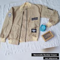 JAKET WANITA MURAH JAKET KEKINIAN IMPORT CEWEK Marshmello Bomber Crea