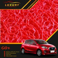 Karpet Mie Bihun - DATSUN GO+ Non Bagasi - Bahan PVC Coil 1 Warna