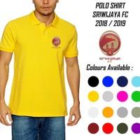 POLO SHIRT SRIWIJAYA FC 2018-2019 GRADE ORI Limited