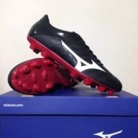 Sepatu Bola Mizuno Rebula V4 Black Tango Red P1GA187701 Berkualitas