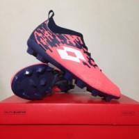 Sepatu Bola Lotto Veloce FG Bright Peach L01010002 Orig Diskon