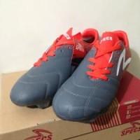 Sepatu Bola Specs Equinox FG Dark Granite Red 100821 Or Murah