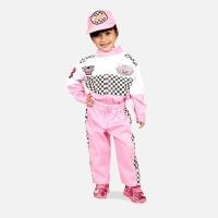 Baju Profesi Anak Perempuan Pembalap Pink
