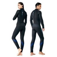 Baju Selam Scuba Diving Long Wetsuit Neoprene 5mm IST dive skin suit