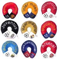 Bantal Leher Club Bola Piala Dunia Barcelona MU liverpool Termurah
