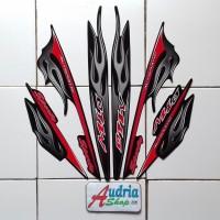 Stiker Striping Motor Yamaha Mio Sporty 2006 Hitam
