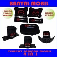 Bantal Mobil Mazda 2 4 in 1 Aksesoris Mobil