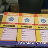 Buku Agenda Kelas Sekolah