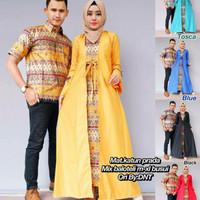 Cp Jameela ethnic gamus batik syari modern baju kerja dan pesta